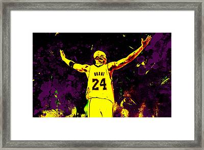 Mamba Out Framed Print by Brian Reaves