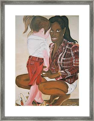 Mami Sandal Framed Print by Desenclos Patrick