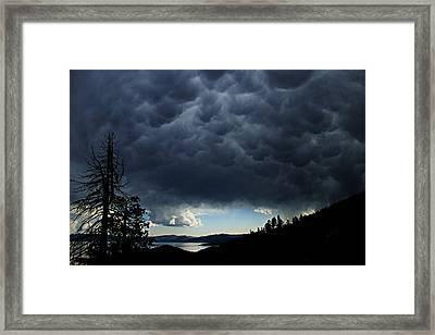 Mammatus Framed Print
