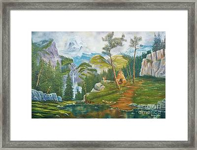 Mammoth Mountain's Honeymoon Blessings Framed Print by Duane West