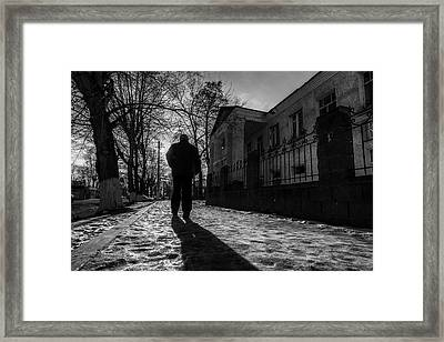 Man About Town Framed Print by John Williams