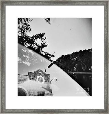 Man And Earth 1 Framed Print by Lacey Renae