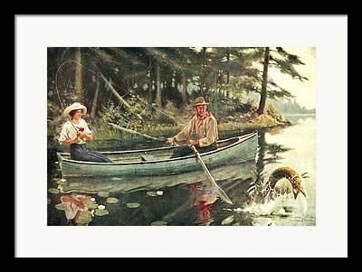 River Fish Framed Prints