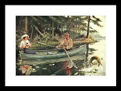 Jq Paintings Framed Prints