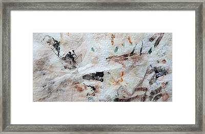 Man Chased By Mountain Lion Framed Print