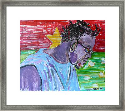 Man From Burkina Faso Framed Print