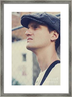 Man From The Great Depression Framed Print