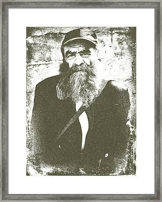 Man In Italy Framed Print by Eric Liller