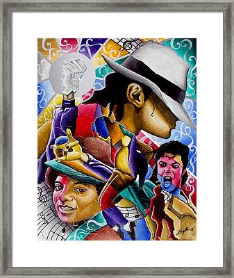 Man In The Mirror Framed Print by Stacy V McClain