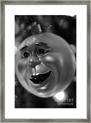 Man-in-the-moon Framed Print by Michelle Hastings