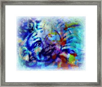 Man In The Moon Framed Print by Wbk
