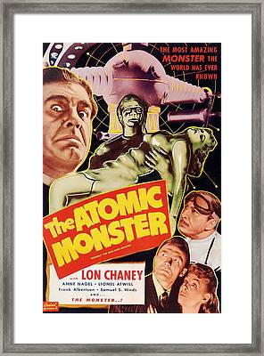 Man Made Monster, Aka The Atomic Framed Print by Everett
