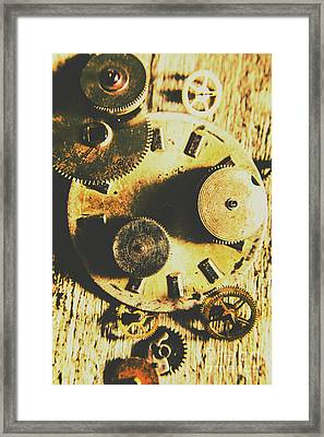 Man Made Time Framed Print