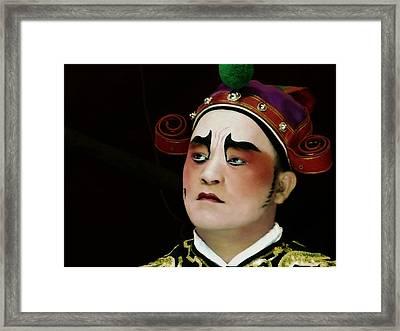 Man Of Colour Framed Print