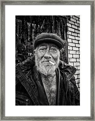 Framed Print featuring the photograph Man Of Freedom by John Williams