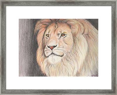 Man Of His Pride Framed Print