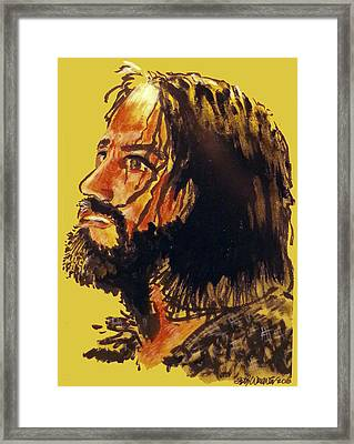 Man Of Sorrows Framed Print