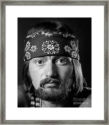 Man Of The 1970s Framed Print by H. Armstrong Roberts/ClassicStock