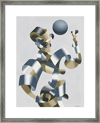 Man Of The Future Framed Print