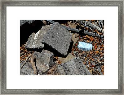 ''man On The Move No.4'', Mon--2may2014 Framed Print