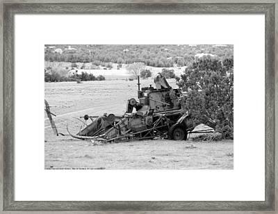 ''man On The Move No.9'', B-w, Sat--16apr2016 Framed Print
