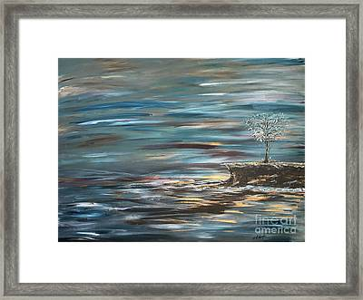 Man Overboard Part Two Framed Print by Heather McKenzie