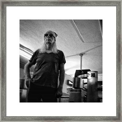 #man #portrait #instapeople Framed Print by Rafa Rivas