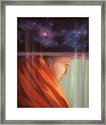 Man Who Is Honest Framed Print by Lucy West