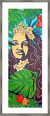Mana Olana  Means Hope Framed Print by Cheryl Ehlers