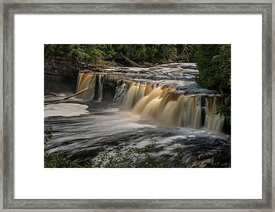Manabezho Falls Framed Print