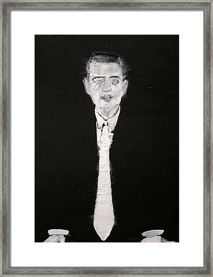 Chief Executive Officer Framed Print by Fabrizio Cassetta