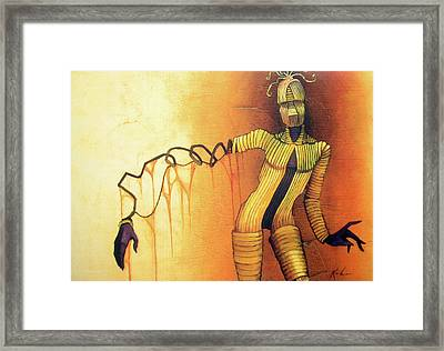 Manakin Framed Print by Scott Kirschner
