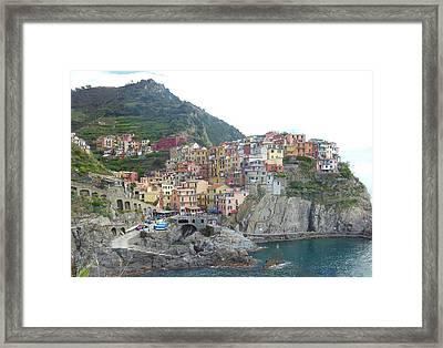 Manarola Cinque Terre II Framed Print