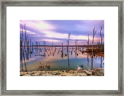 Manasquan Sunrise Framed Print