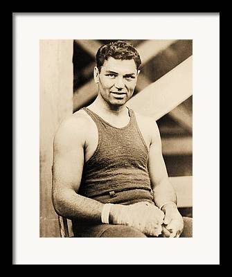 Famous Boxer Framed Prints