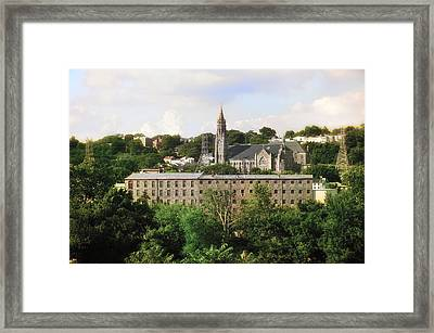 Manayunk Framed Print by Bill Cannon