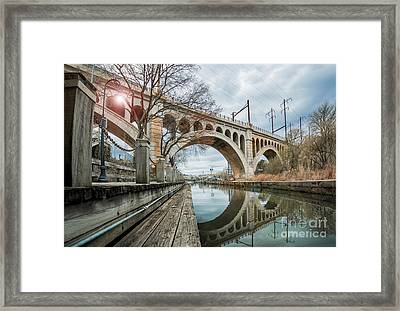 Manayunk Bridge Framed Print
