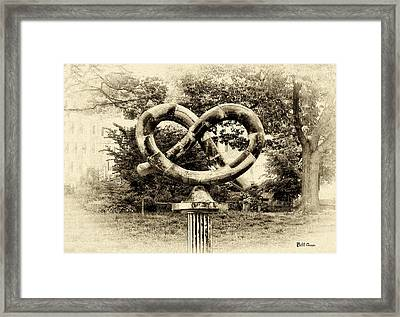 Manayunks Pretzel Park Framed Print by Bill Cannon