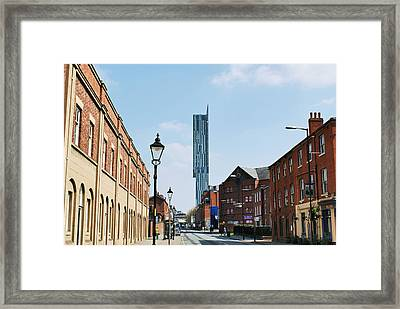 Manchester - Beetham Tower Framed Print