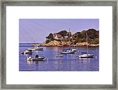 Manchester By The Sea Framed Print
