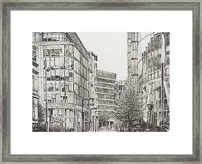 Manchester  Deansgate Framed Print