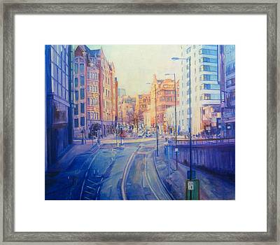 Manchester Light And Shade Framed Print