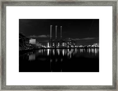 Manchester Street Power Station Framed Print by Andrew Pacheco