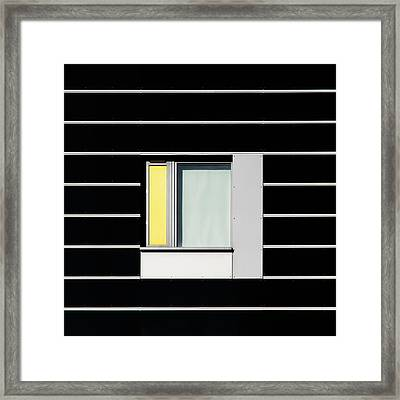 Manchester Windows 1 Framed Print