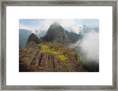 Manchu Picchu Framed Print