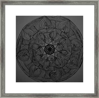 Mandal 1 Framed Print