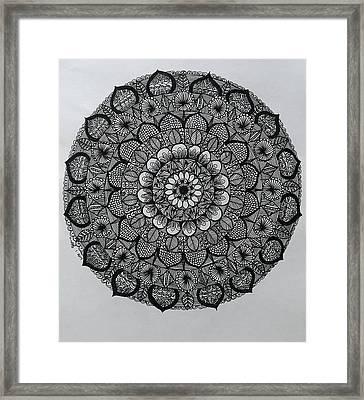 Mandal 5 Framed Print