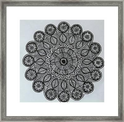 Mandal 6 Framed Print