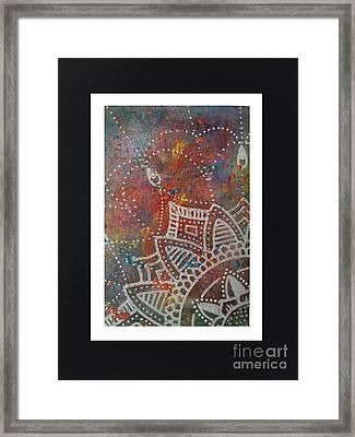 Mandal Dantady Framed Print by Britt Myrli