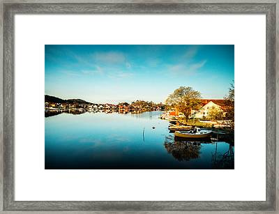 Mandal In The Morning Framed Print by Mirra Photography